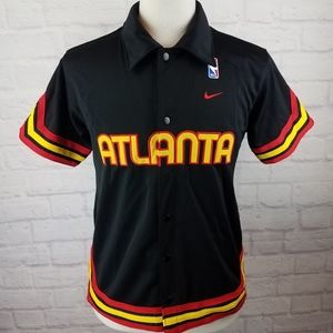 NBA 1974 Retro Atlanta Hawks Warm-Up Jersey